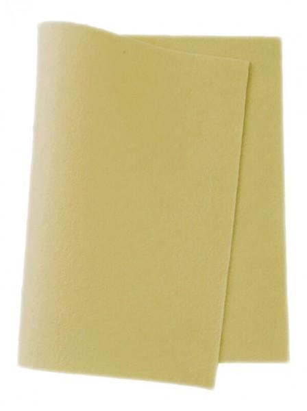 Wollfilz pastellgelb • 100 % reine Wolle