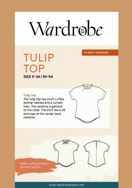 Tulip Summer Top, Papierschnitt,Wardrobe By Me,Deckblatt