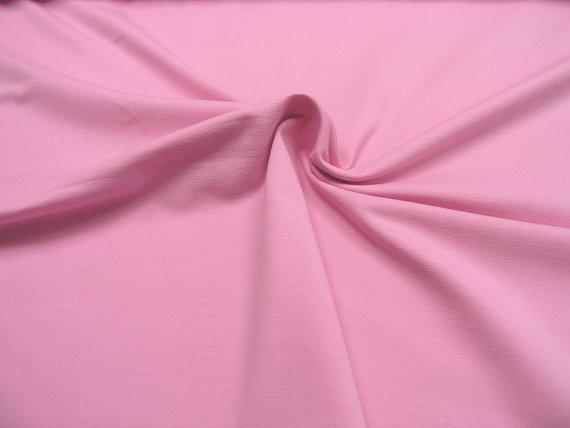 Baumwoll Jersey • uni • rosa