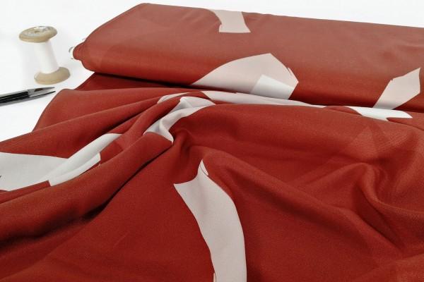 Viskose mind the MAKER LENZING™ ECOVERO™ rused red