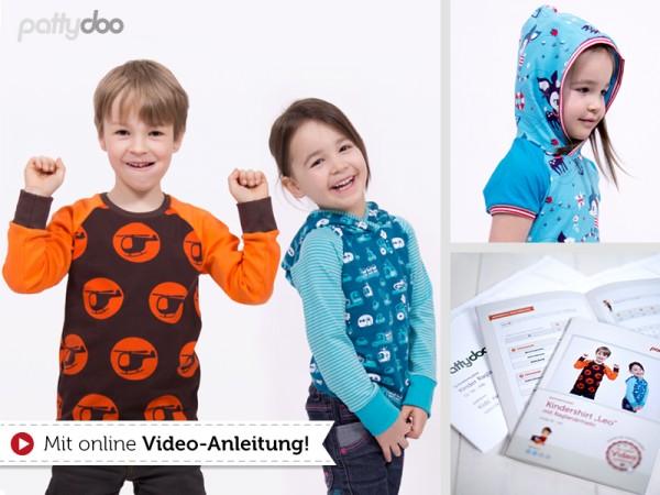 Kindershirt Leo • Papierschnittmuster • by Pattydoo