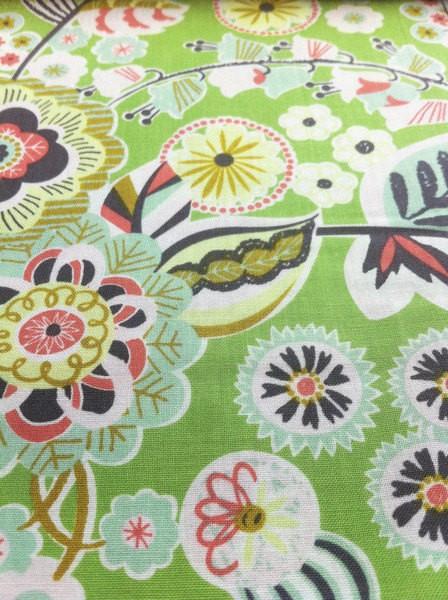 Blend Fabrics • Natural Wonder • Deco Park Green • Baumwoll Stoff
