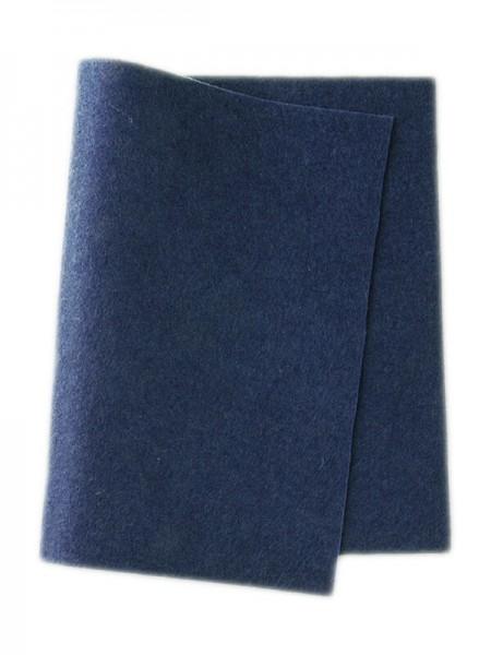 Wollfilz marine • 100 % reine Wolle