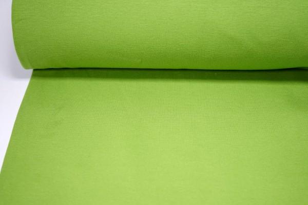 Bündchen glatt uni apfelgrün