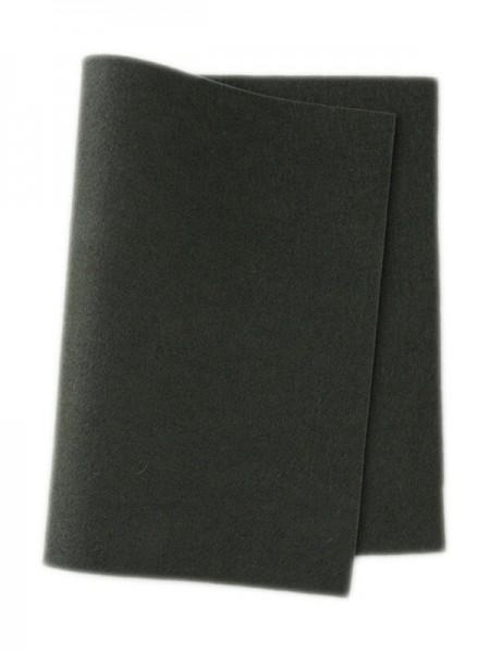 Wollfilz dunkelgrau • 100 % reine Wolle