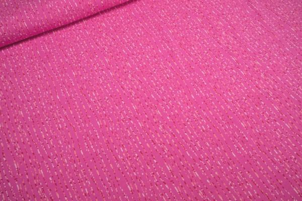 Jersey Sea Stripe pink by Mies Moos Baumwoll Jersey