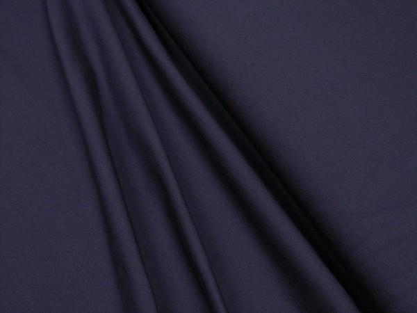 Baumwoll Jersey uni dunkel lila
