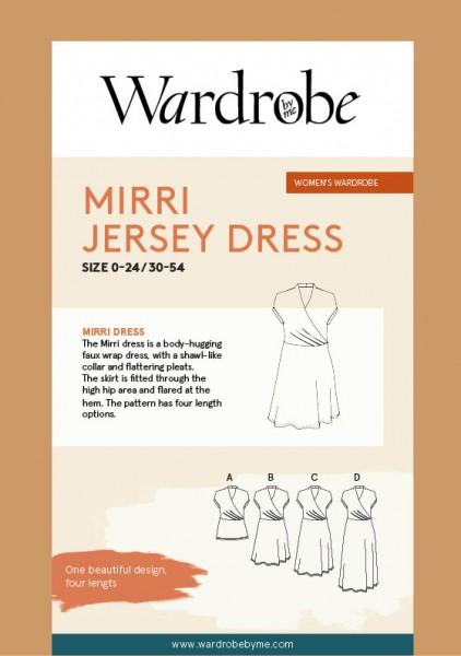 Mirri Jersey Dress,Papierschnitt,Wardrobe by me,Deckblatt