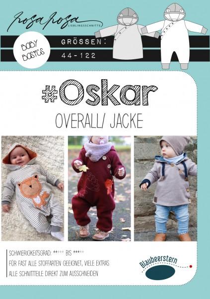 Oskar • Papierschnittmuster • Overall und Jacke • Gr. 44 - 122