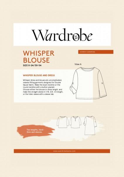Whisper Blouse,Papierschnitt,Wardrobe by me,Deckblatt