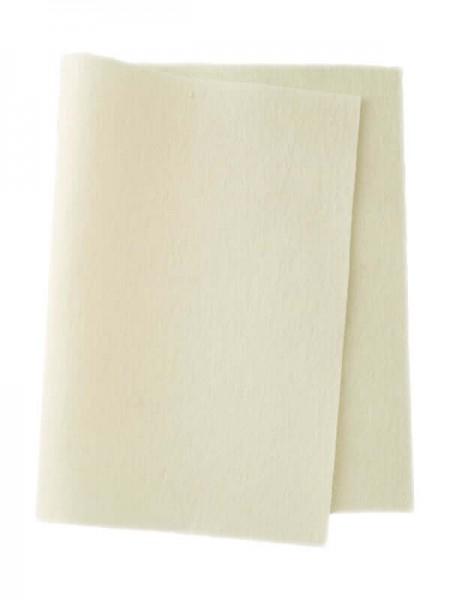 Wollfilz ecru • 100 % reine Wolle