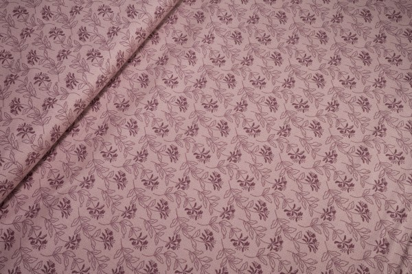 Andover Fabrics Bed of Roses Sage Lilac Laundry Basket Quilts