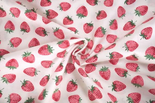 Andover Fabrics Strawberry Jam Strawberry white 2/9365B
