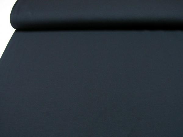 Baumwoll Jersey • uni • dunkel blau •