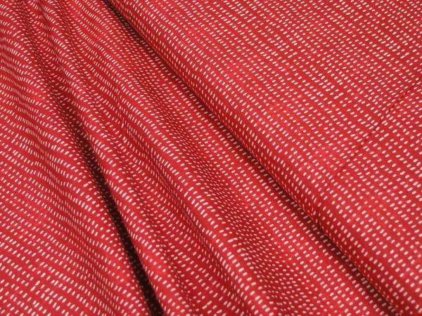 Blend Fabrics I Love Christmas Seeds Red