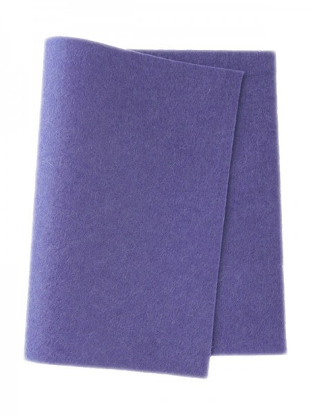 Wollfilz hellblau-lila • 100 % reine Wolle