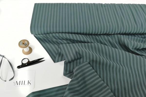 meetMILK Two-Tone Stripe Twill deep green
