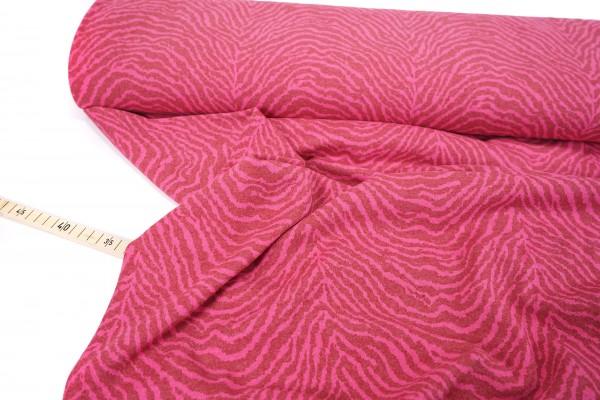 Jacquard-Strick • Zebra • pink