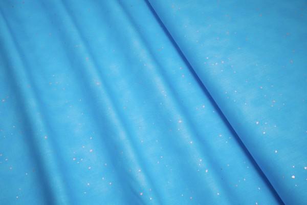 RJR Fabrics Shiny Objects Sweet Somethings Blue Skies Flurries Silver