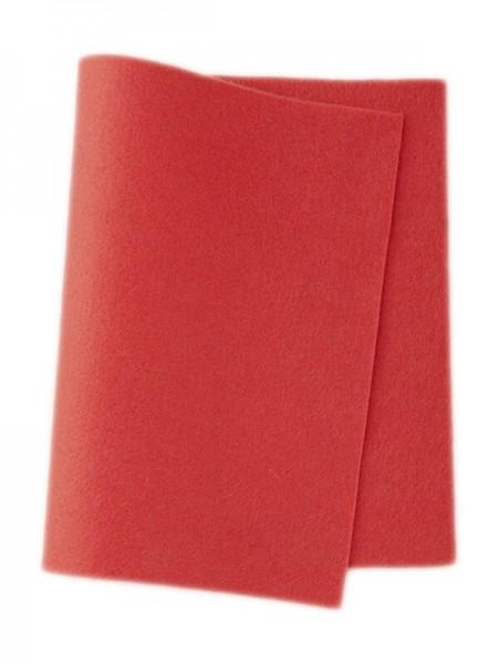Wollfilz warm rosa • 100 % reine Wolle
