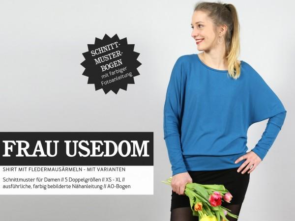 FRAU USEDOM • Fledermausshirt, Papierschnitt, Deckblatt