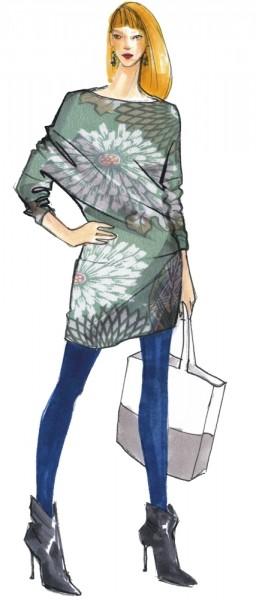 Jerseykleid Liv • Damen • Papierschnittmuster
