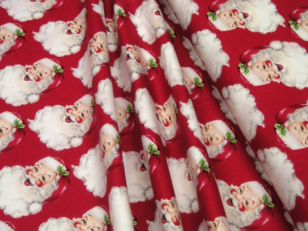 Anna Griffin Christmas Kitsch St. Nick red