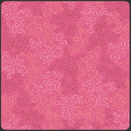 Art Gallery • Nature Elements • Hot Pink • Baumwollstoff