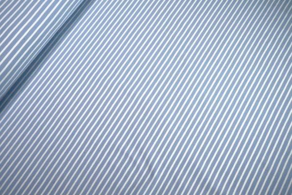 Jersey Little Darling hellblau weiß gestreift