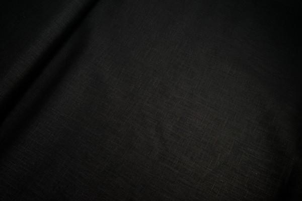 Reines Leinen • uni • schwarz