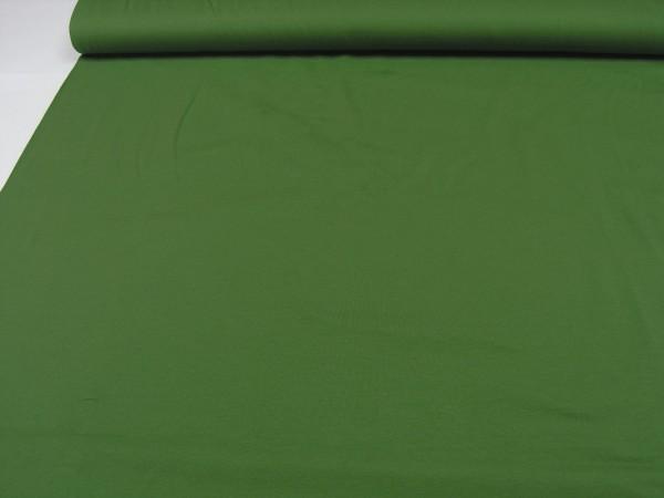 Baumwoll Jersey uni grün