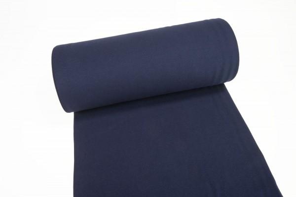 Bündchen glatt uni nachtblau