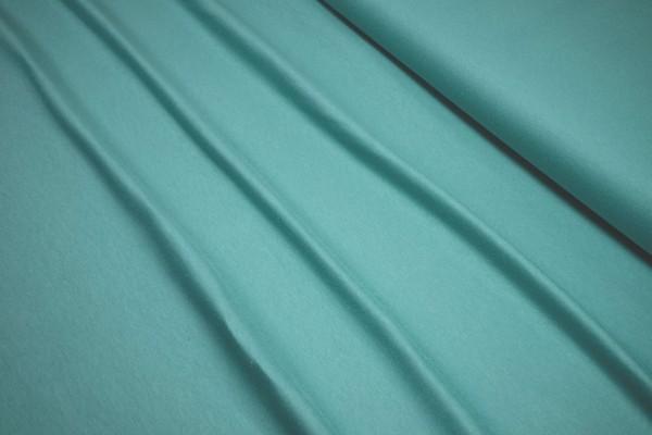 Baumwoll Bio schwerer Jersey uni Nile Blue by Bloome Copenhagen