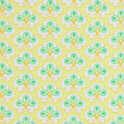 tante ema • Knospenparade • gelb Baumwollstoff