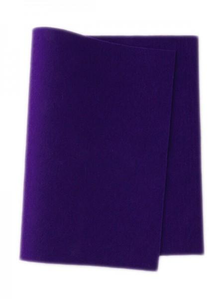 Wollfilz dunkelviolett • 100 % reine Wolle