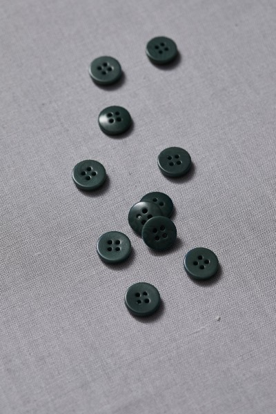 Corozo Knopf • meetMILK • Deep Green • 11 mm