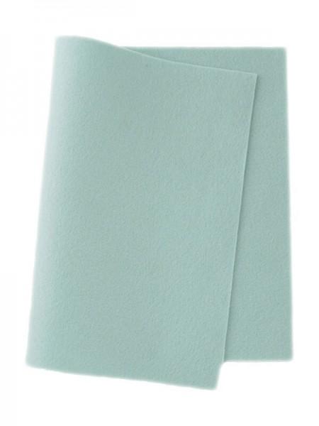 Wollfilz pastellblau • 100 % reine Wolle
