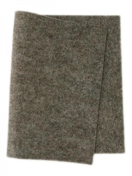 Wollfilz dunkelbeige • 100 % reine Wolle