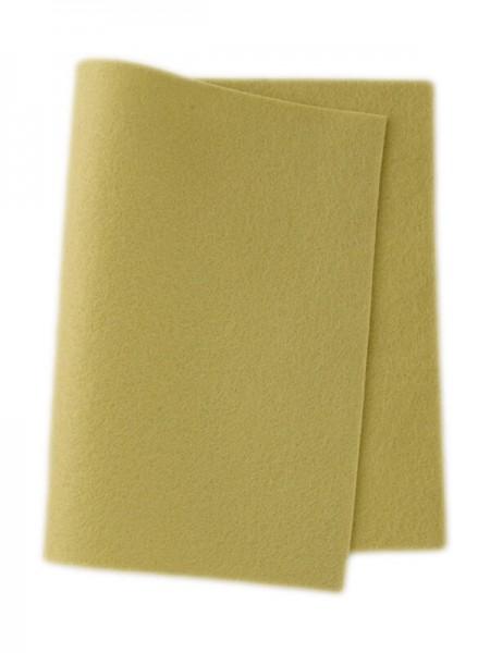 Wollfilz gelbgrün • 100 % reine Wolle