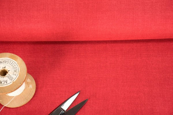 makower London Linen Texture Red 1473 R