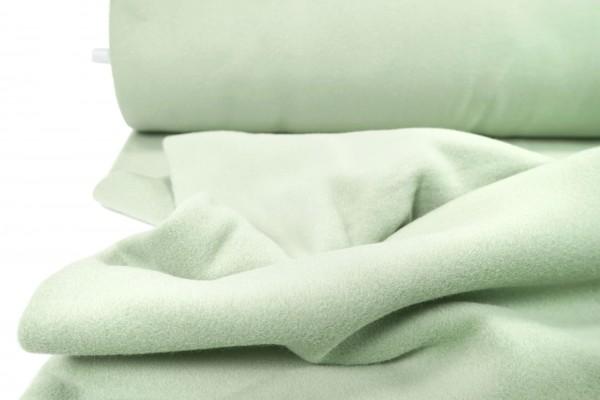 BIO Baumwollfleece grün