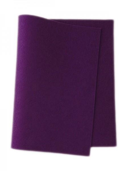 Wollfilz lila • 100 % reine Wolle