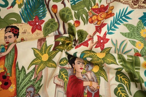 Alexander Henry Folklorico Fridas Garden DE 6752A by De Leon Design Group