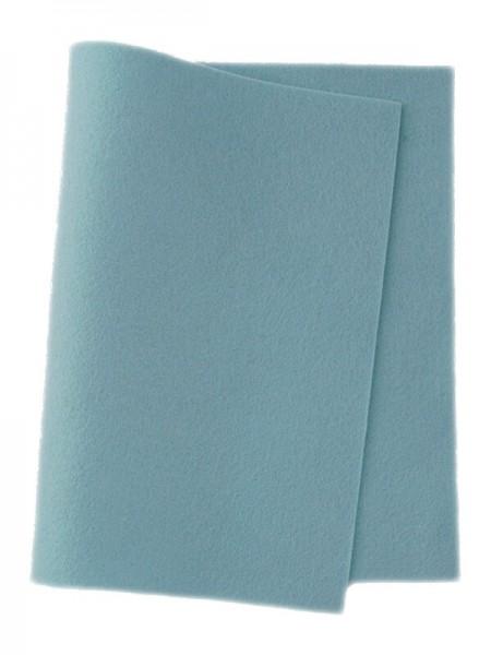 Wollfilz himmelblau • 100 % reine Wolle