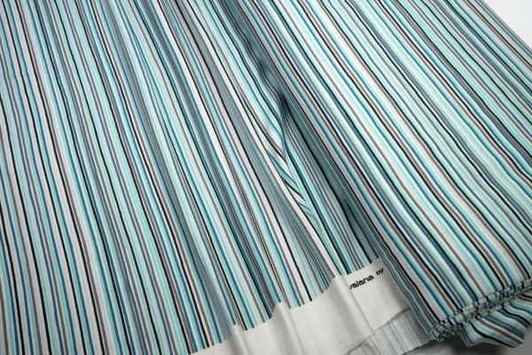 Baumwoll Jersey Avalana 19-035 Streifen multi blau grün