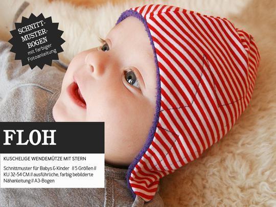 FLOH • Wendemütze mit Stern, Papierschnitt, Deckblatt