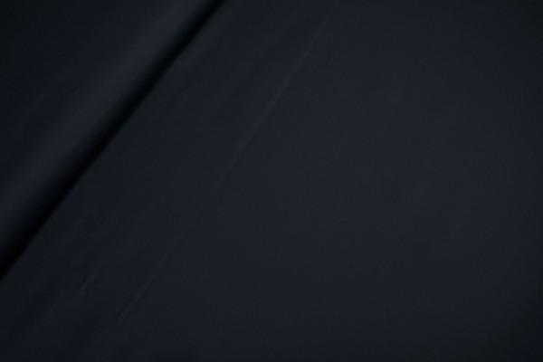 Baumwoll-Satin leicht elastisch dunkelblau