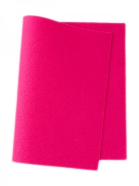 Wollfilz pink • 100 % reine Wolle