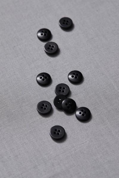 Corozo Knopf • meetMILK • Black • 11 mm