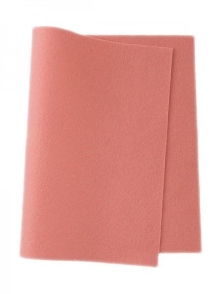 Wollfilz rosa • 100 % reine Wolle